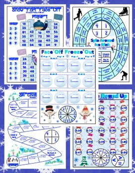 4th Grade Winter Activities - Winter Literacy and Math 4th Grade