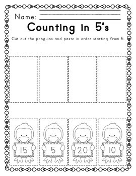 Winter Literacy and Math Activities NO PREP PRINT & GO