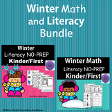 Winter Literacy and Math Bundle NO-PREP