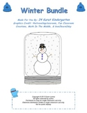 Winter Literacy and Math Pack