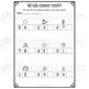 Winter Literacy and Math No Prep Worksheets