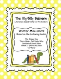 Winter Literature-based Units:  Corduroy, The Snowy Day...