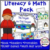 Sight Word Penguin Reader with Literacy & Math Activities