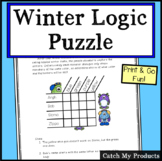 Winter Logic Puzzle - Winter Monsters