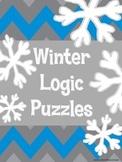 Winter Logic Puzzles ~ 5 puzzles ~ No Prep