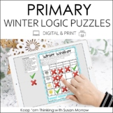 Logic Puzzles Gr. 1-3: Beginning Logic Puzzles With A Wint