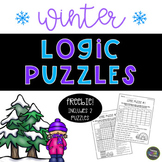 Winter Logic Puzzles Freebie