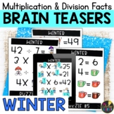 Winter Logic Puzzles   Multiplication and Division Facts
