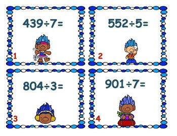 Winter Long Division Center