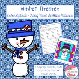 Winter Long Vowel Color by Code