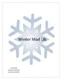Winter Mad Lib