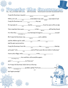 Winter Madlibs Bundle