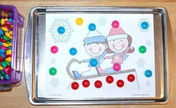 Winter Magnet Sheets