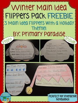 Main Idea Flippers Pack Winter FREEBIE
