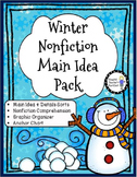 Winter Main Idea Nonfiction Pack