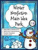 Winter Main Idea Nonfiction Pack