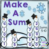 Winter Make A Sum 5 Thru 10
