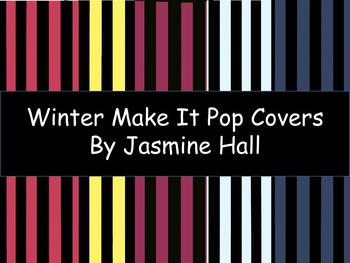 Winter Make It POP Covers