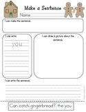 Winter Make a Sentence- Literacy Center