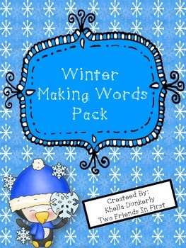 Winter Making Words