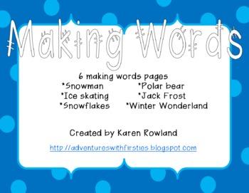 Winter Making Words
