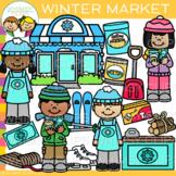 Winter Market Clip Art