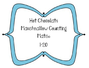 Winter Marshmallow Counting Mats