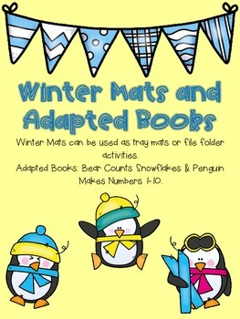 Winter Mat and Adapted Books