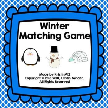 Winter Matching Game