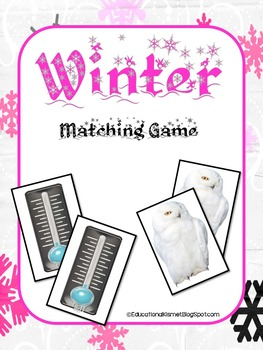 Winter Matching Game