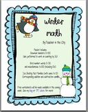 Winter Math (0-100, by 3s, number words, fact families)