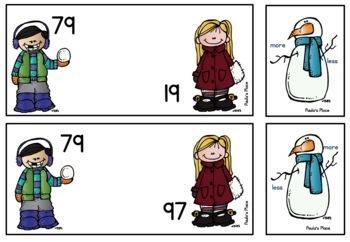 Winter Math 10 tasks