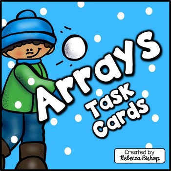 Arrays Task Cards for Second Graders