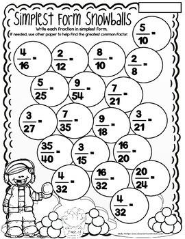 winter math worksheets th grade noprep winter math  tpt winter math worksheets th grade noprep winter math