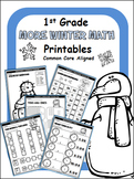 Winter Math Printables - 1st Grade
