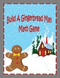 Winter Math 2 (Gingerbread Man Addition Game Aligned to the Common Core)