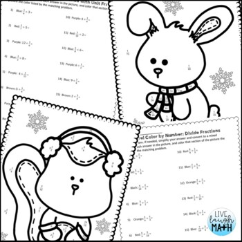 winter coloring pages math fractions - photo#25