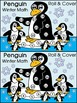 Winter Math Activities: Penguin Roll & Cover Math Activity Packet