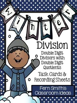 Winter Double Digit Divisors with Double Digit Quotients D