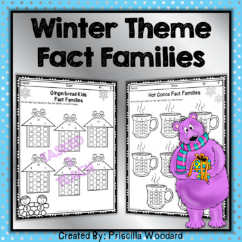 Winter Math 3rd Grade: Equal Groups, Data, Properties, Multiplication, Division
