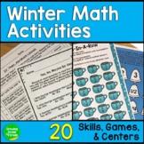 Winter Math Centers 5th