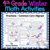 Winter Math Activities - 4th Grade - Common Core Aligned