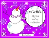 Winter Math Activities-Counting, Tally Marks, Word Problems