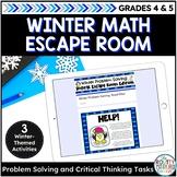Winter Math Activities | Digital Escape Room