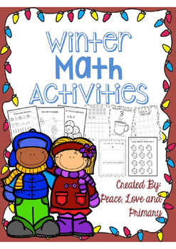 Winter Math Activities - Easy Printables!