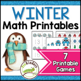 Winter Math Activities Pack
