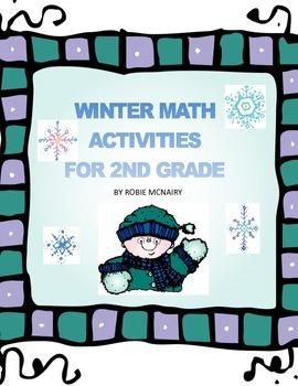 Winter Math Activities for 2nd Grade