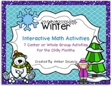 Winter Math Activities for Centers or Whole Group
