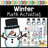 Winter Math Activities for Pre-K and Kindergarten