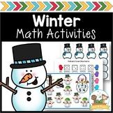 Winter Math Activities for Pre-K and Kindergarten